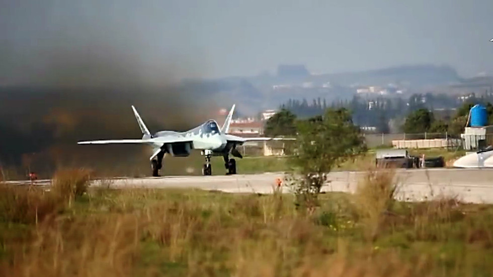 Russian defenses intercept drone attack on Khmeimim Air Base in Syria
