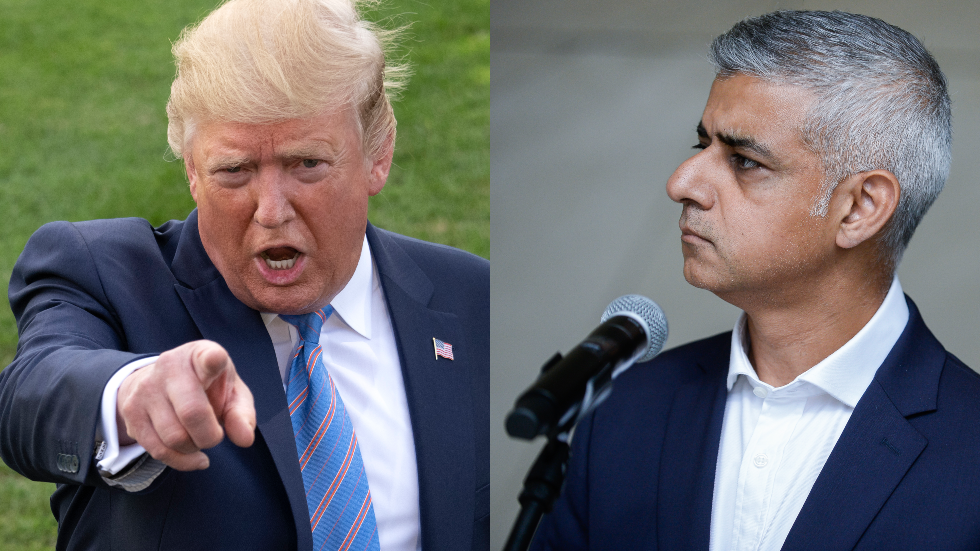 'Stay out of our business': Trump slams Sadiq Khan after golf jibe… but can he take his own advice?