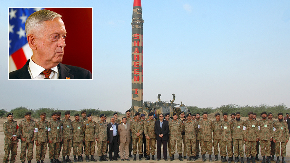 Pakistan 'most dangerous country' in the world with 'fastest-growing nuclear arsenal,' says Mattis