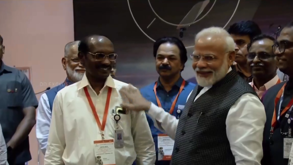 'Our resolve only got stronger': Modi encourages Indians after botched Moon landing attempt