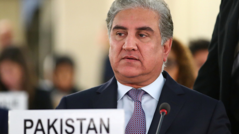 'Indian state': Pakistan foreign minister concedes disputed Kashmir with unfortunate slip