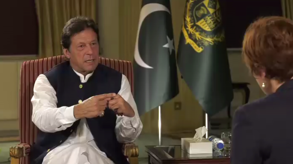 Pakistan 'unfairly' blamed for Washington's failures in Afghanistan, PM Khan tells RT