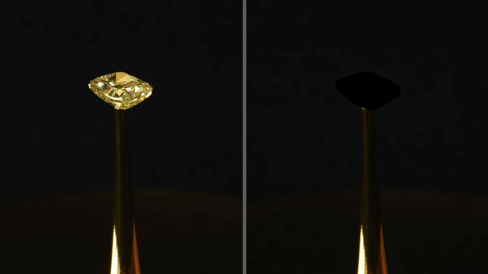 Black is the new black: Scientists create darkest-ever material by accident (PHOTO)
