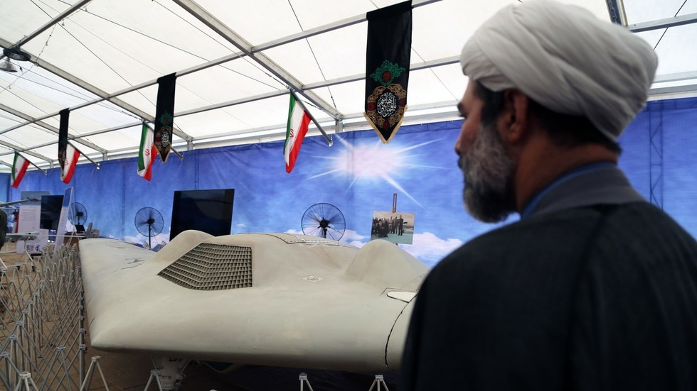 Iran showcases downed US drones amid simmering Gulf tensions (PHOTOS)