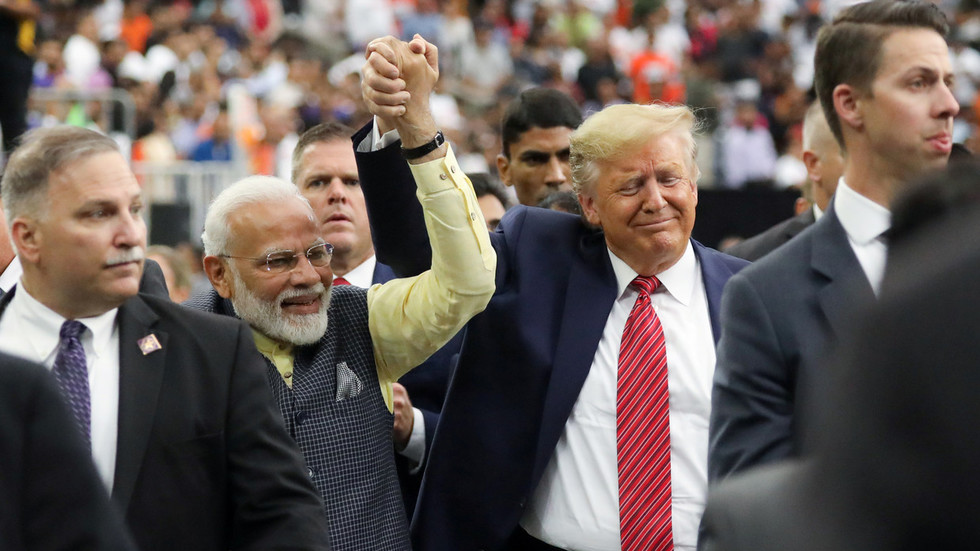 Howdy, Modi: Tens of thousands, including Trump, meet India's PM in Texas