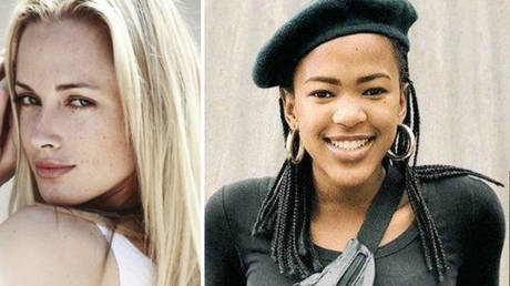 Reeva Steenkamp (left) and Uyinene Mrwetyana (right) were inspirations for the petition. © Public domain