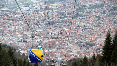 Sarajevo, capital of Bosnia-Herzegovina (file photo)