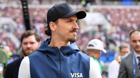 Zlatan Ibrahimovic © Global Look Press / Markus Ulmer