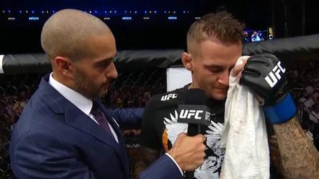 Screenshot from YouTube / UFC
