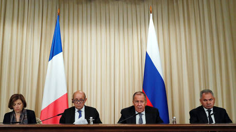 'Time has come': French ministers urge easing of tensions with Russia during key meeting in Moscow