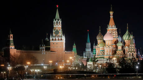 The Kremlin, Moscow, Russia (file photo)