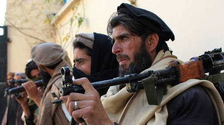 FILE PHOTO: Taliban fighters © Global Look Press /  imago stock & people
