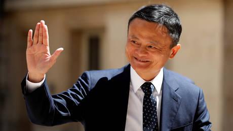 FILE PHOTO: Jack Ma © Reuters / Charles Platiau