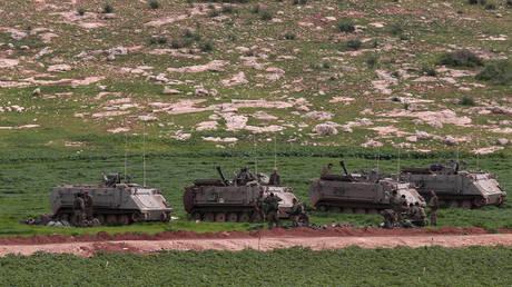 Israeli troops take part in a military training near Tubas town in the northern Jordan Valley on Feb. 6, 2019. © Nidal Eshtayeh/Xinhua/Global Look Press
