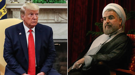 Donald Trump and Hassan Rouhani © Reuters / Leah Millis and Morteza Nikoubazl