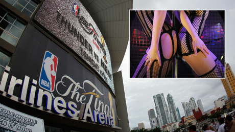 American Airlines Arena in Miami © AFP / Mike Ehrmann The strip club Penthouse in Ukraine © Global Look Press / Jens Kalaene