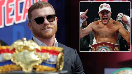 'I will be ready': Sergey Kovalev welcomes challenge of Canelo Alvarez as superfight made official