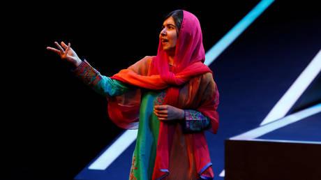 Malala Yousafzai at an event of the Fundacion Telmex Mexico Siglo XXI (in Mexico City, Mexico, September 1, 2017. © Reuters / Ginnette Riquelme
