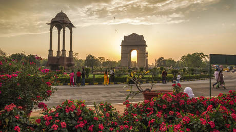 FILE PHOTO: The India Gate © Getty Images / Mohan Singh