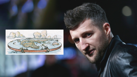 Boxer Carl Froch REUTERS / Eddie Keogh |  If Earth were flat as a pancake © Global Look Press / Mary Evans Picture Library