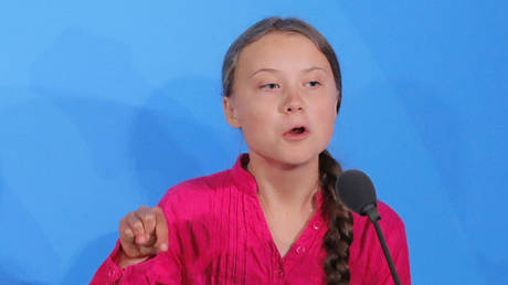 Greta Thunberg speaks at the 2019 United Nations Climate Action Summit in New York © Reuters / Lucas Jackson