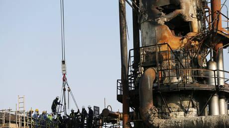 damage at Saudi Aramco's Abqaiq facility © Reuters / Hamad I Mohammed