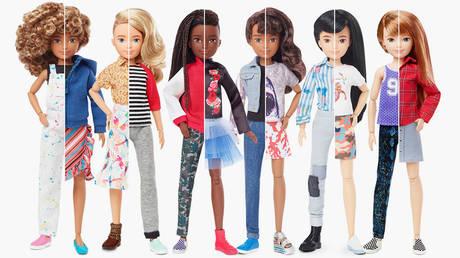 The Creatable World lineup © Mattel