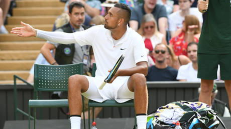 Nick Kyrgios © Global Look Press / Panoramic