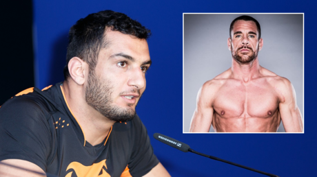 'His nipples were hard like a woman': MMA ace Gegard Mousasi accuses Bellator champ Rafael Lovato Jr of taking 'monkey steroids'