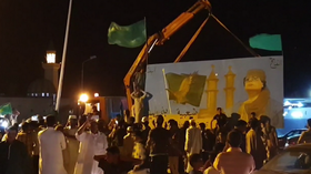 Gaddafi supporters flock to streets to mark 50th anniversary of September revolution (VIDEO)