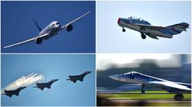 Next-gen airliners, retro planes, VIP choppers: Highlights of Russia's MAKS-2019 airshow (PHOTOS)
