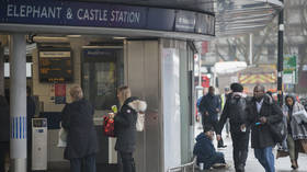 Knife crime epidemic on the rise, as London tube station shocked by double stabbing