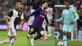 Best of The Best: Ronaldo, Messi & Van Dijk to battle it out for top FIFA men's player award