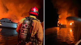 'Mayday! I can't breathe!' 34 feared dead in horrific boat fire off California coast
