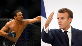 Brazilian MMA fighter and ambassador threatens to CHOKE France's Macron