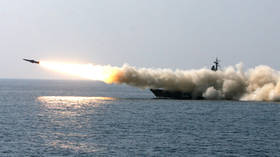 WATCH Russian warships fire barrage of missiles amid massive drills in Far East waters