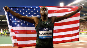 Top US sprinter Coleman cleared of doping charges despite missing 3 tests