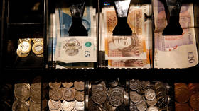 British pound sinks to 34-year low against US dollar amid snap election fears