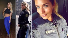 Hot cops under investigation by German authorities for steamy Insta selfies