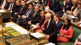 British lawmakers reject Boris Johnson's bid for snap election
