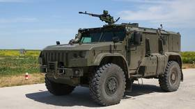 Armored car to escort NUCLEAR missiles built in Russia