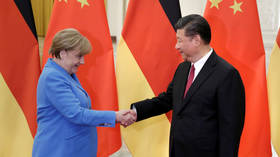 What about values? Merkel pressured by Hong Kong protesters & US over China visit