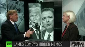 James Comey's cover-up: Hidden Trump memos