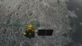 India loses connection with Moon lander during final descent