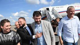 Jailed Russian journalist Kirill Vyshinsky freed in seismic detainee exchange with Kiev