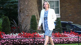 UK Work & Pensions Secretary Amber Rudd leaves govt & Tories, citing BoJo's 'purge' of party