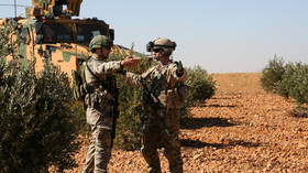 Turkish & US troops begin joint patrols of Syria 'safe zone' - reports