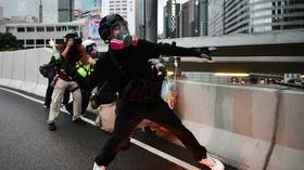 'Force is one of our methods': Hong Kong protesters don't hide vandalism & violence in new VIDEO