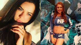 'No one's holding a gun to our heads!' Banned ring girls hit out at 'ridiculous' feminist groups