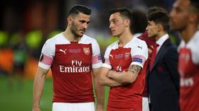 Arsenal held 'big discussion about London gang threat' after Ozil & Kolasinac knife attack